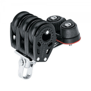 H346 Harken 29mm triple block and cam cleat