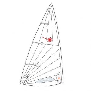 Laser Standard MkII sail