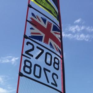 WASZP Class Flag Sticker