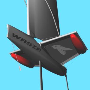WASZP Wing Tramp Bladder Cruiser