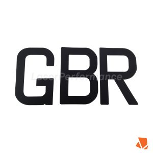 GBR Letters 300mm