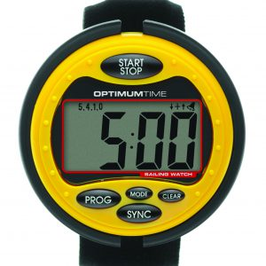 Optimum Time Sailing Watch - Yellow