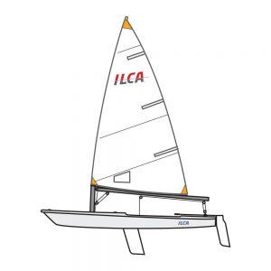 Ilca 4 complete boat