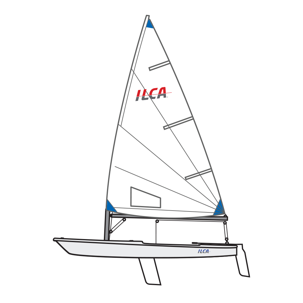 Ilca 6 boat package