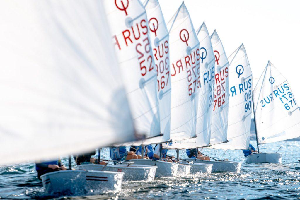 North Sails Optimist sails