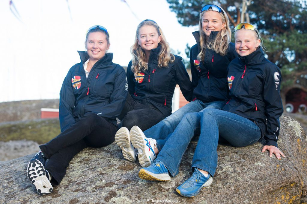 The next generation of elite talent coming through as part of the Foiling Norway Women in WASZP program